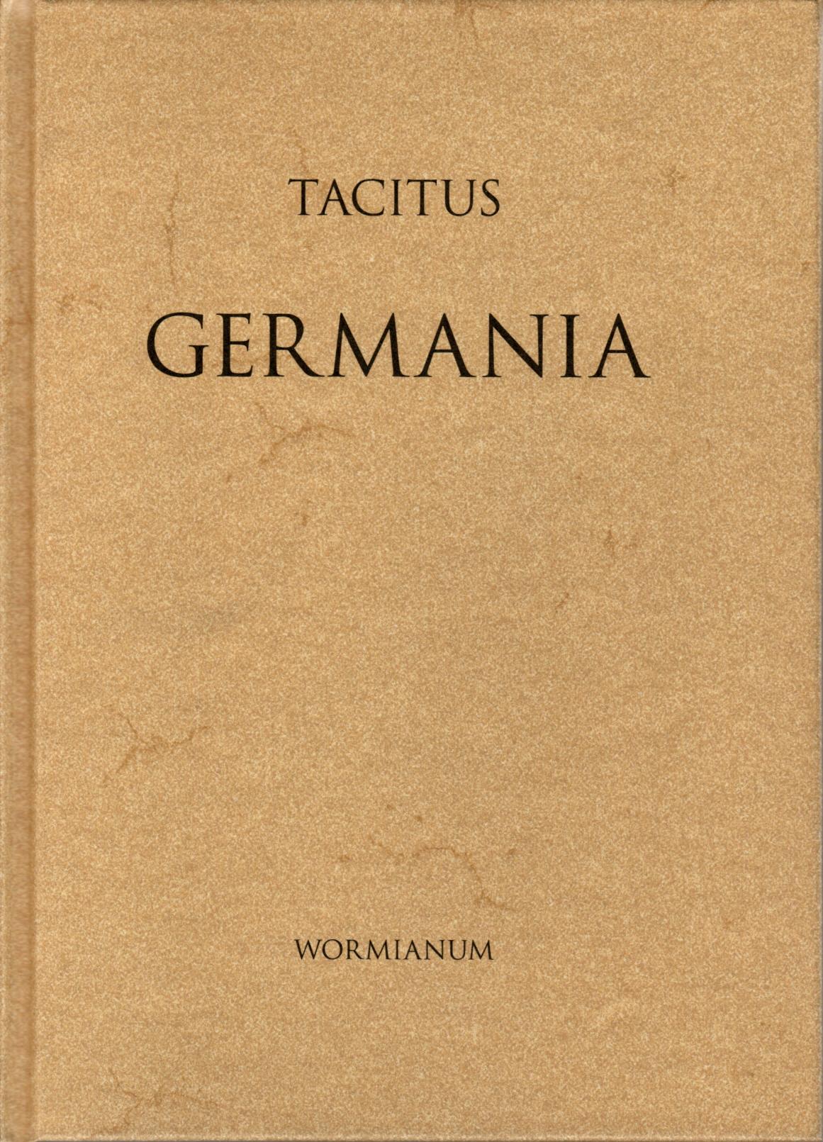 Tacitus' Germania.