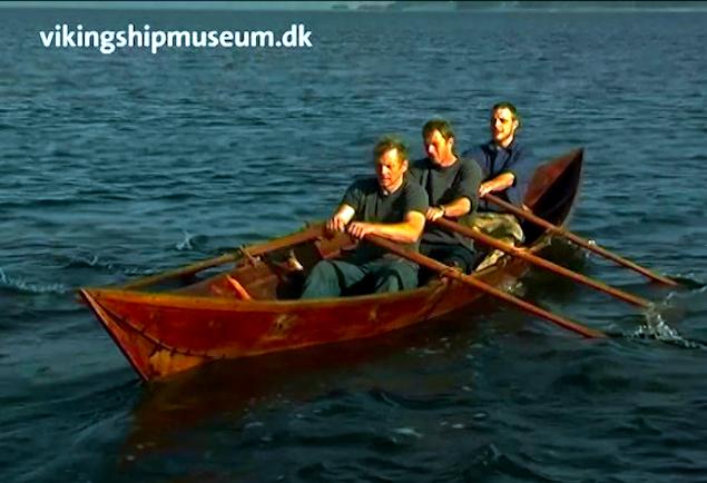 Vikingeskibsmuseets udgave af Björkebåden.