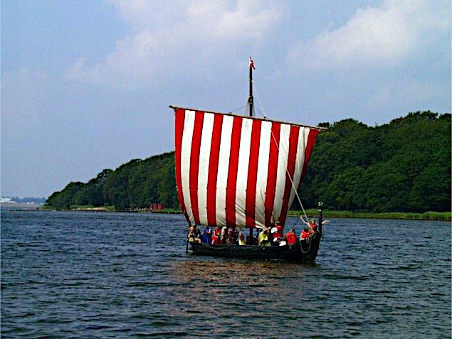 Sebbe Als på Augustenborg Fjord.