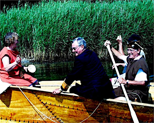 Prins Henrik som passager på Tilia.