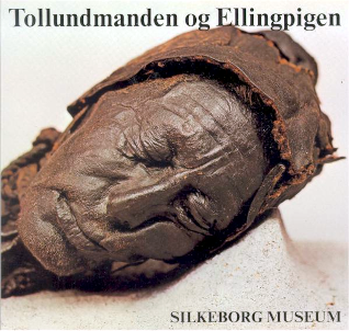 Tollundmanden på Silkeborg Museum.
